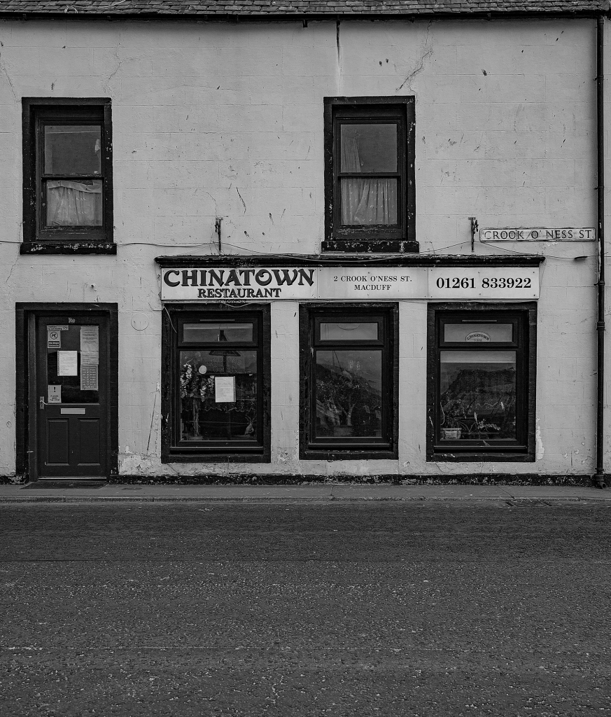 The Chinese Restaurant on Crook O'Ness Street - Richard Broom Photography