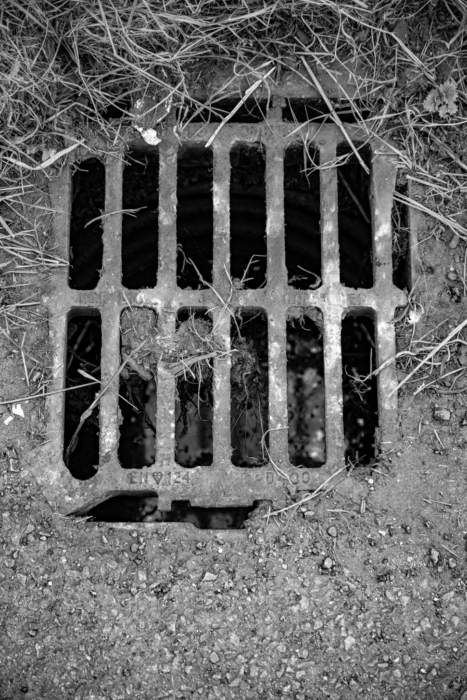 The Simple Things (1: drain cover) - Richard Broom Photography