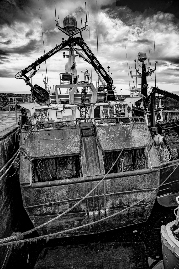 The back end of the boat - Richard Broom Photography