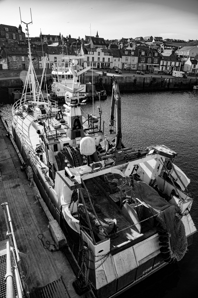 The trawler at rest - Richard Broom Photography