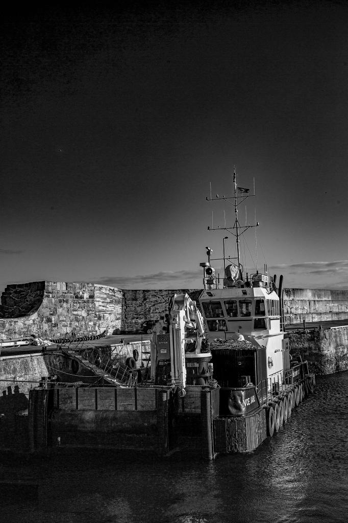 The Voe Jarl at dawn this morning - Richard Broom Photography