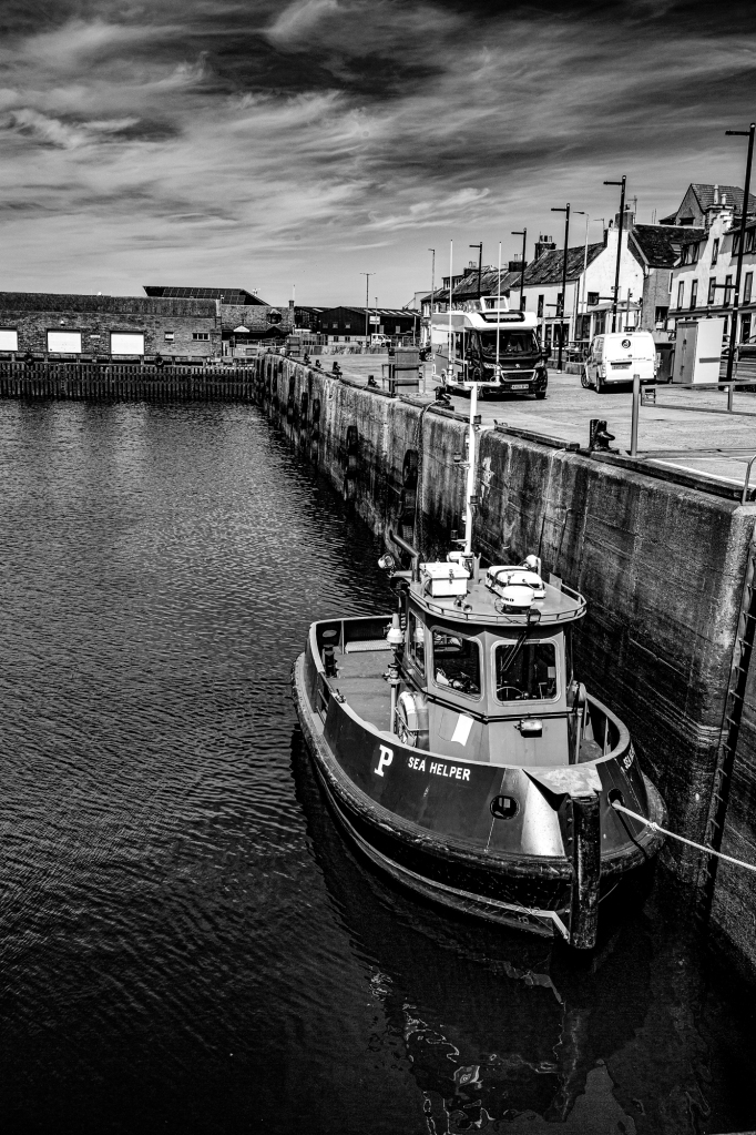The Empty Harbour - Richard Broom Photography