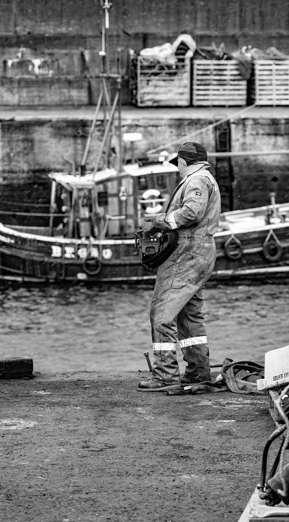 The Crane Operator - Richard Broom Photography