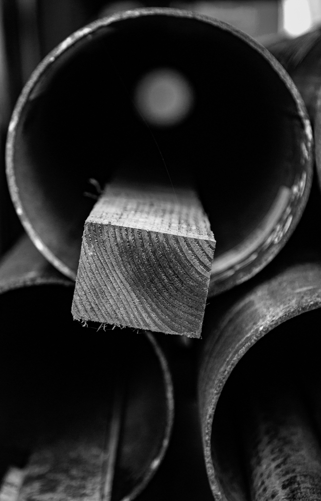 The Hole Series (7) – the new wood in the hole - Richard Broom Photography