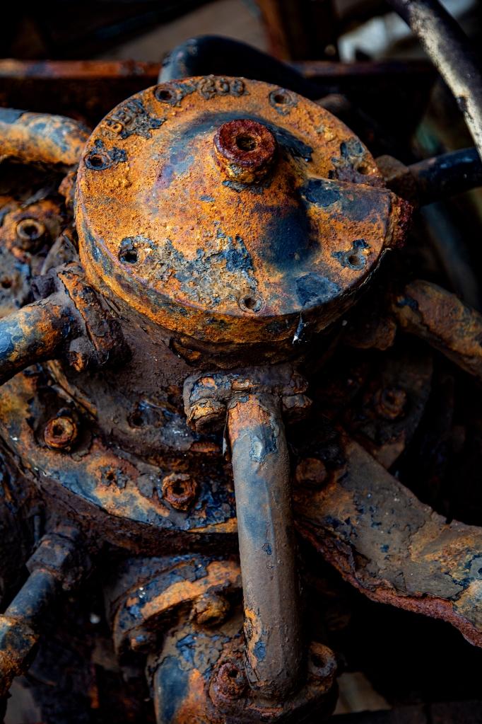 The Rusty Gizmo - Richard Broom Photography