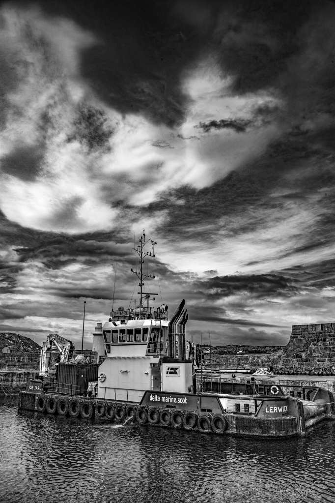 The Voe Jarl Returns - Richard Broom Photography