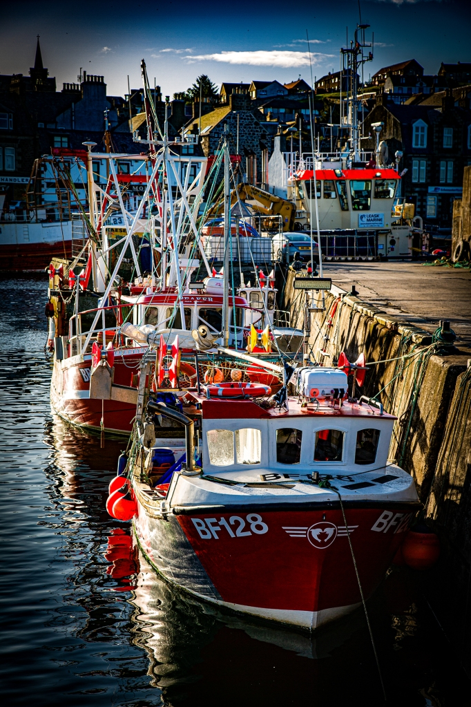 The Boats in the Morning Sun - Richard Broom Photography