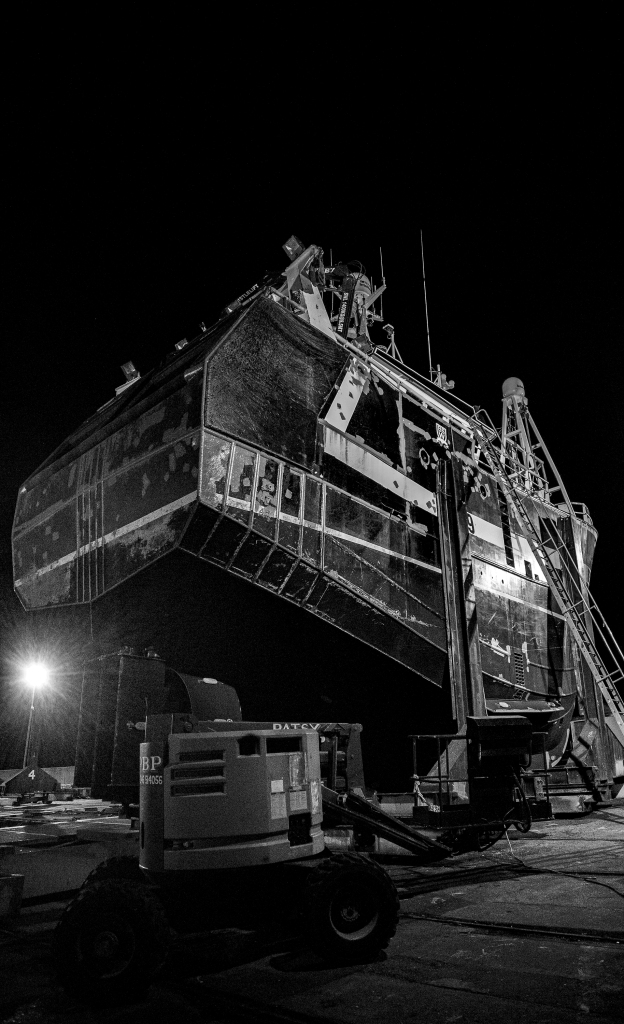 The Shipyard at Night - Richard Broom Photography