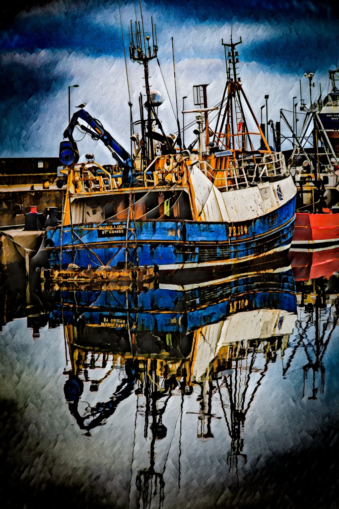 The Trawler (Neural) - Richard Broom Photography
