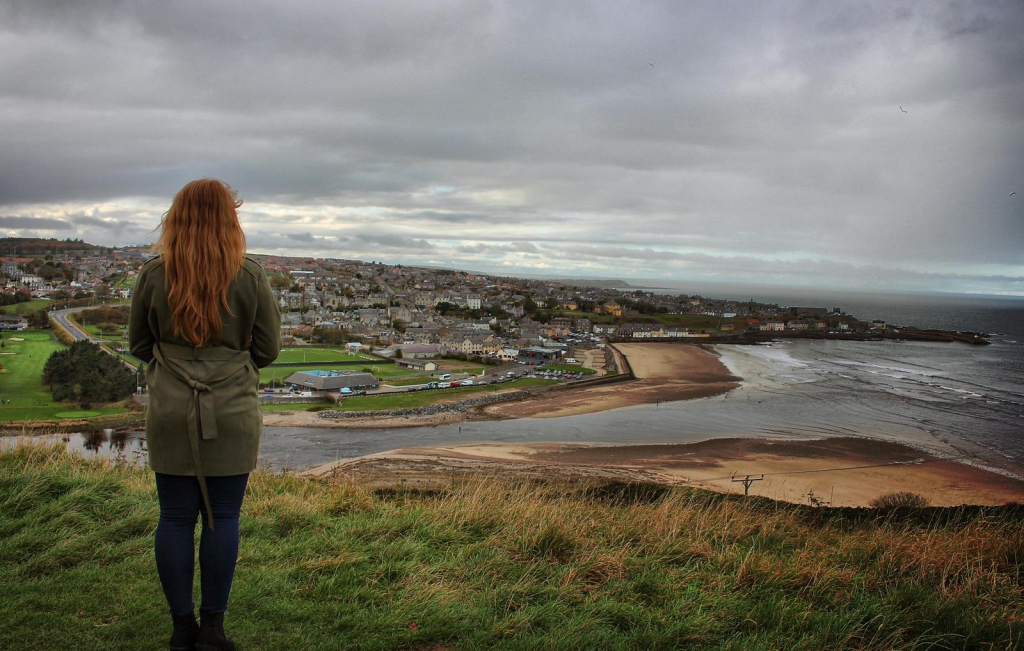 Iona overlooking Banff and the River Deveron - Aberdeenshire