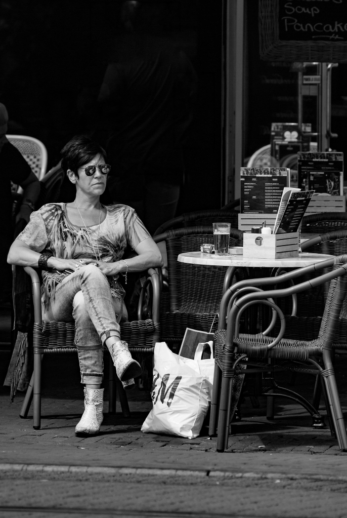 The Cafe Lady - Richard Broom Photography