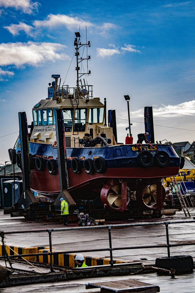 The Plucky Little Tug - Richard Broom Photography
