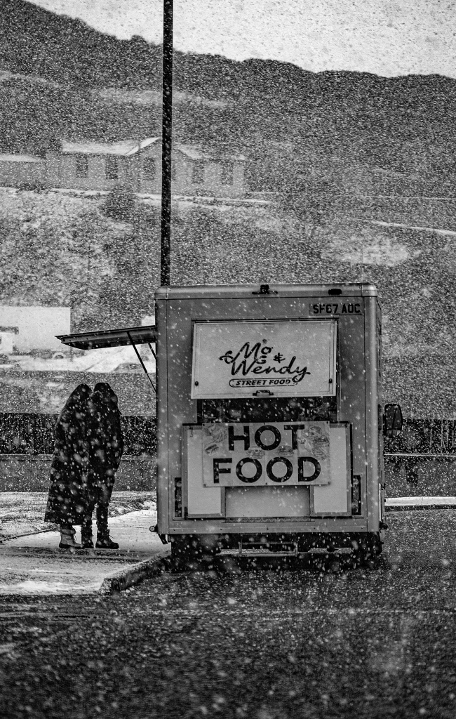 The Hot Food on a Cold Day - Richard Broom Photography