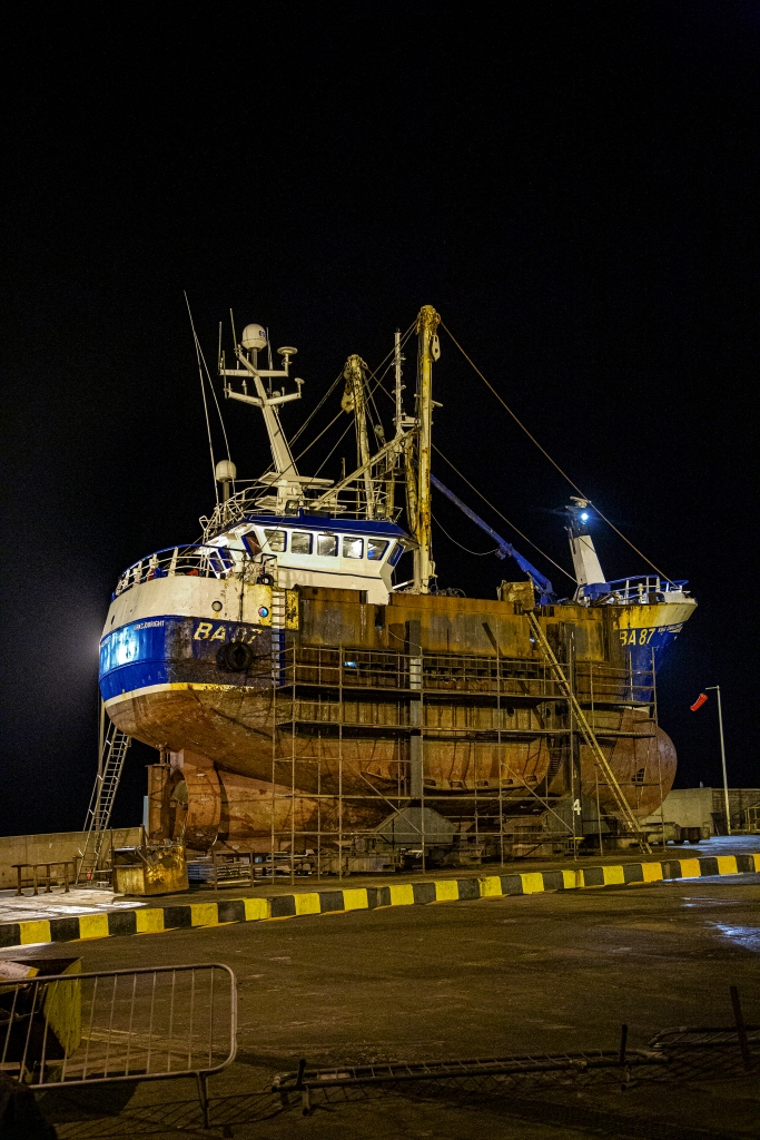 The Fishing Vessel on the Slip - Richard Broom Photography