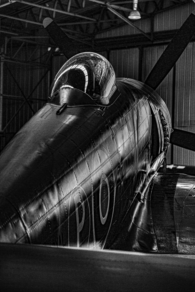 The Dark Hangar - Richard Broom Photography