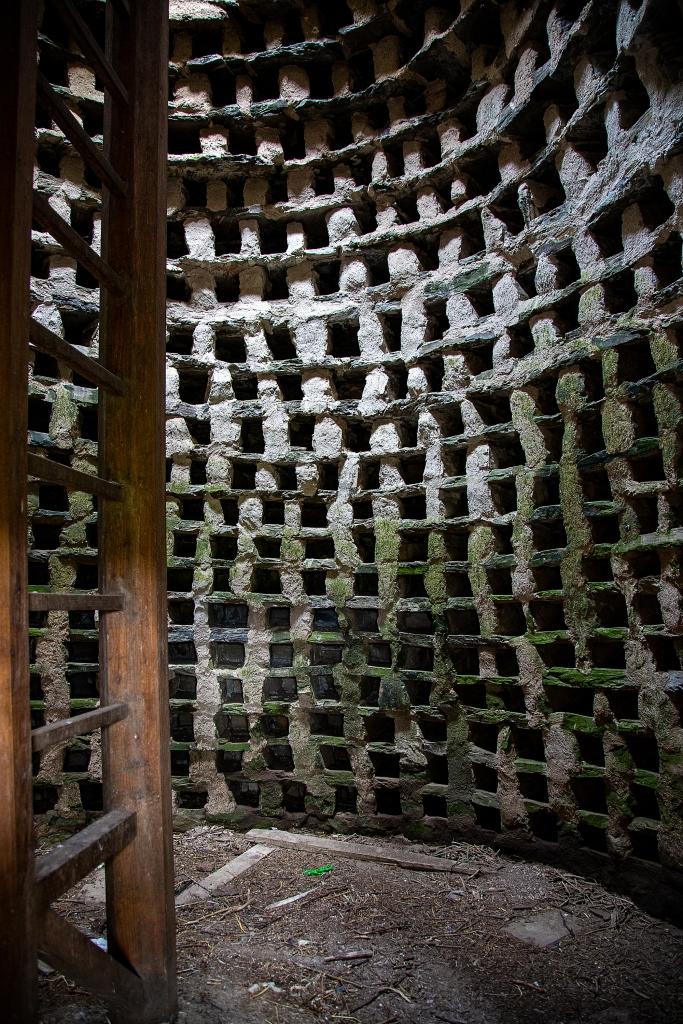 The Dovecote (inside)
